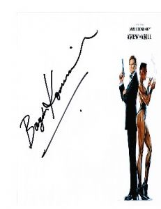Bogdan Kominowski (Bond: View to a Kill) hand signed autograph